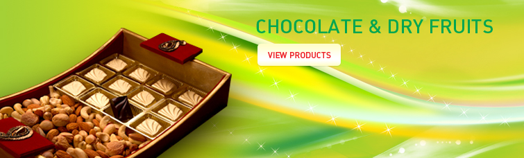 Chocolate and Dry Fruits